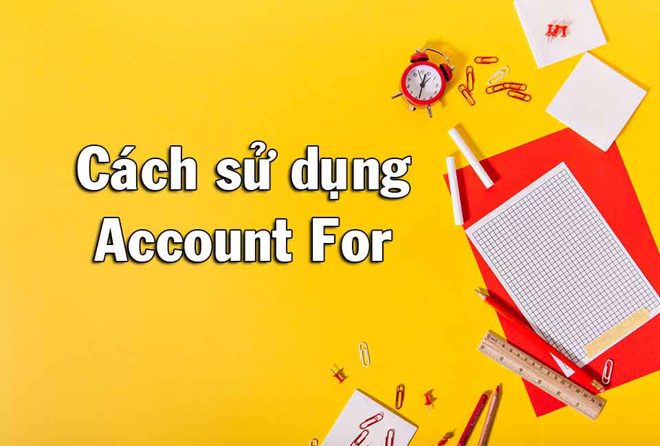 account for
